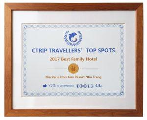 Điểm du lịch hàng đầu của Ctrip 2017